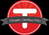 TSheets Pro Certified Logo
